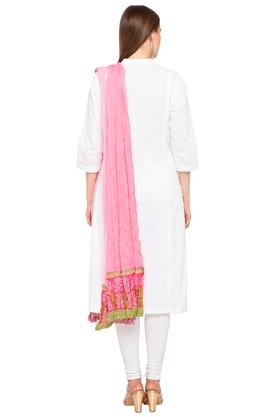 Womens Colour Block Dupatta