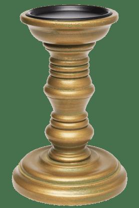 Wooden Pillar Holder - Small