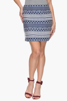 FRATINI WOMAN Womens Printed Knee Length Skirt