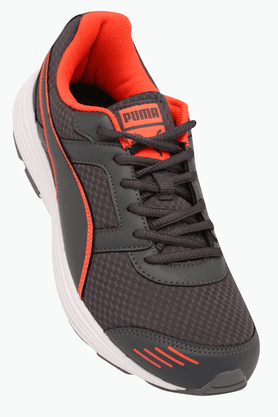PUMA Mens Running Lace Up Shoe