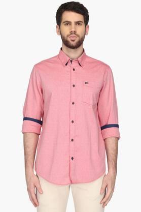 Arrow Sport Formal Shirts (Men's) - Mens Sports Slim Fit Printed Shirt