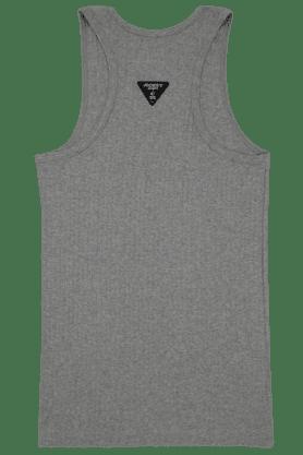 Mens Cotton Solid Vest