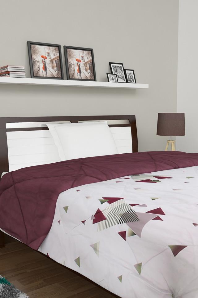 Geometric Printed Capriano Single Quilt
