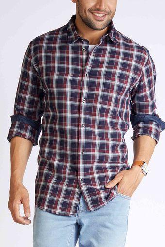INDIAN TERRAIN -  RedCasual Shirts - Main
