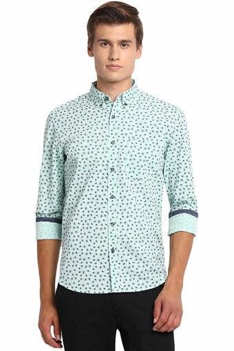 BASICS -  GreenCasual Shirts - Main