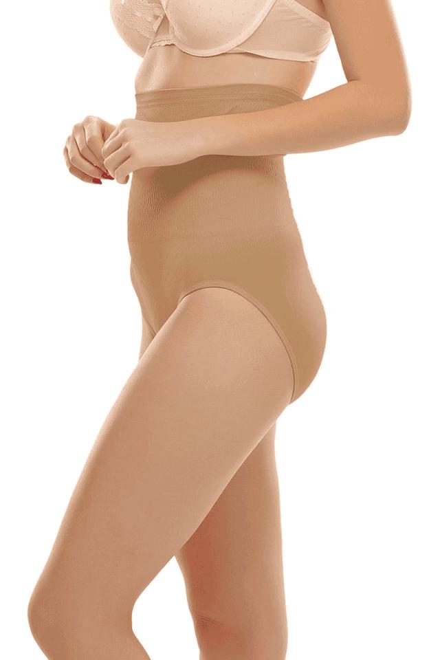 Women Short Tummy Tucker Brief With Silicon Elastics