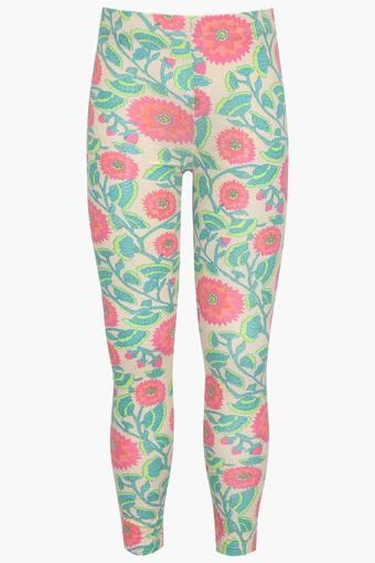 c6ec96e1267a Buy STOP Girls Printed Leggings   Shoppers Stop