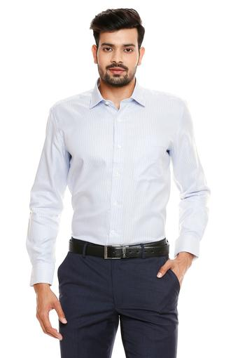 LOUIS PHILIPPE -  Mid Blue Shirts - Main