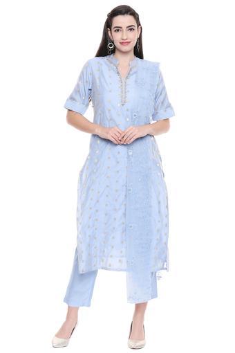 KASHISH -  BlueSalwar & Churidar Suits - Main