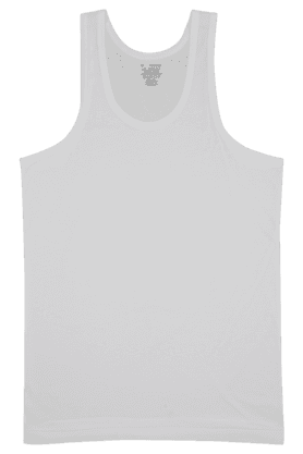 JOCKEY Mens Stretch Solid Round Neck Vest - 6952490_9100