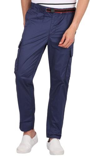 PEPE -  Navy Cargos & Trousers - Main