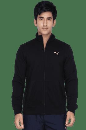 PUMAMens Natural 2 Pocket Solid Long Jacket