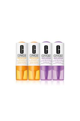 Fresh Pressed Clinical Daily + Overnight Boosters with Pure Vitamins C 10% + A (Retinol)2+2 - 8.5+6 ml