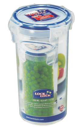 LOCK & LOCK Classics Tall Round Food Container - 430ml