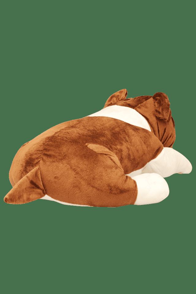 Unisex Lying Dog Soft Toy