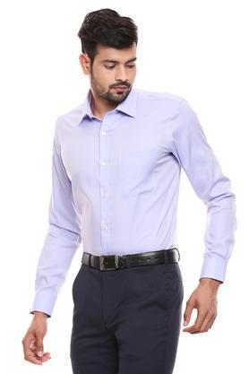 RAYMOND - Mid BlueFormal Shirts - 2
