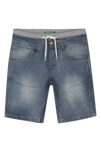 UNITED COLORS OF BENETTON -  Denim Stonewash LightBottomwear - Main