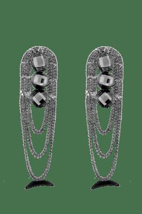JAZZFancy Style Black Color Earrings For Women's