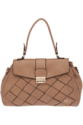 E2OWomens Artificial Leather Satchel