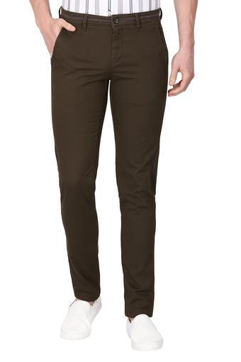 VAN HEUSEN SPORT -  OliveCargos & Trousers - Main