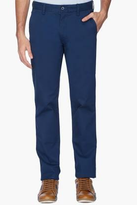 IZOD Mens Slim Fit Solid Casual Chinos