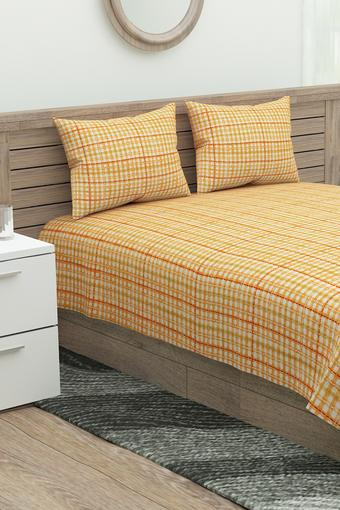 MASPAR -  Orange Bed Sheets - Main