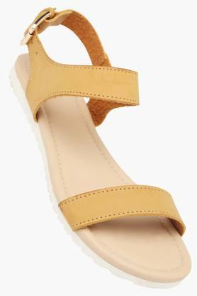 ALLEN SOLLY Womens Casual Wear Buckle Closure Flat Sandals  ...