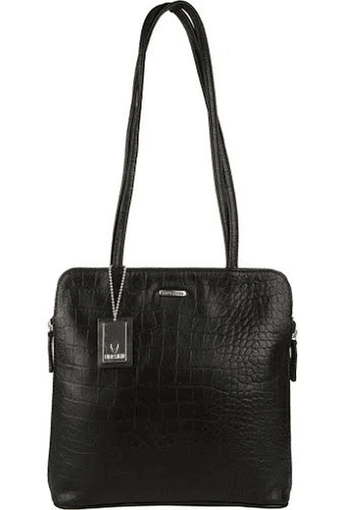 Buy HIDESIGN Womens Kirsty Leather Zipper Closure Shoulder Bag ... ae67ce1ad485b