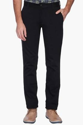 VETTORIO FRATINI Mens Solid Casual Chinos - 201576560