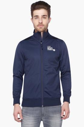 LEEMens Full Sleeves Solid Sweatshirt