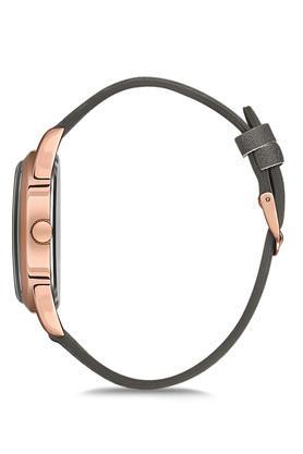 Unisex Vintage Grey Dial PU Analogue Watch - FA9-VC09R99A