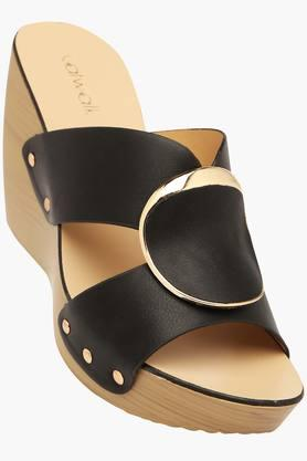 CATWALKWomens Casual Slipon Wedge Sandals (Buy 2 Get Flat 33% On Lower MRP) - 201592814