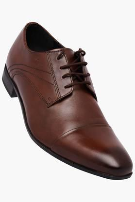 LOUIS PHILIPPE Mens Leather Lace Up Derbys