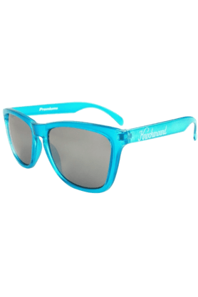 KNOCKAROUND Classic Premium Unisex Sunglasses Aquamarine/Smoke-PRGL1025 (Use Code FB20 To Get 20% Off On Purchase Of Rs.1800)