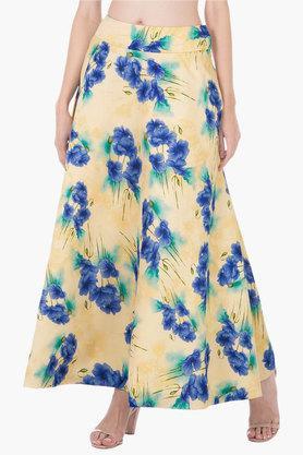 INDYAWomens Printed Long Skirt
