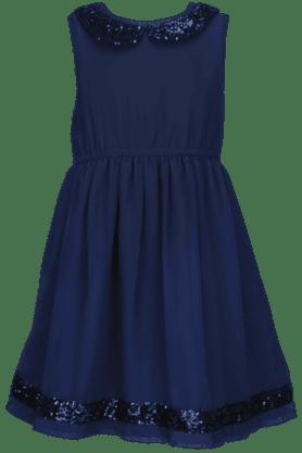 Girls Embellished Sleeveless Dress