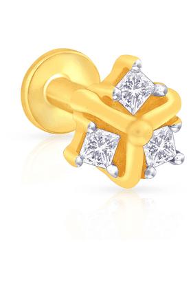 MALABAR GOLD AND DIAMONDSWomens Mine Diamond Nosepin - 201593875