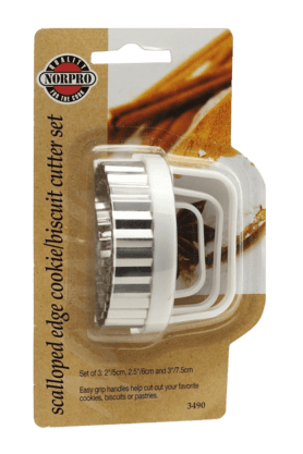 NORPRO Biscuit Cutter (Set Of 3)