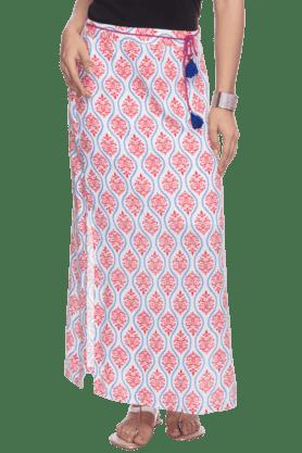 HAUTE CURRYWomens Printed Maxi Skirt