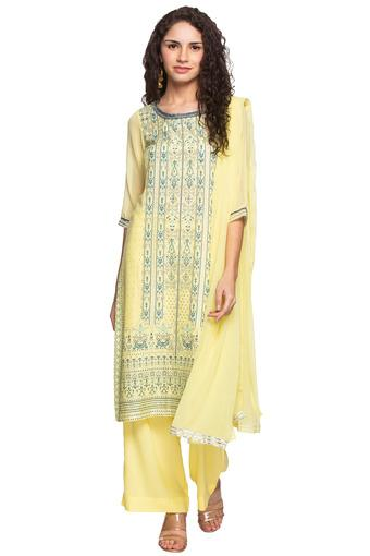 AURELIA -  YellowSalwar & Churidar Suits - Main