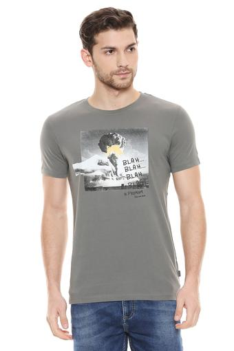 JACK AND JONES -  GreyT-shirts - Main