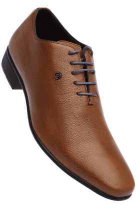 FRANCO LEONE Mens Lace Up Leather Formal Shoe
