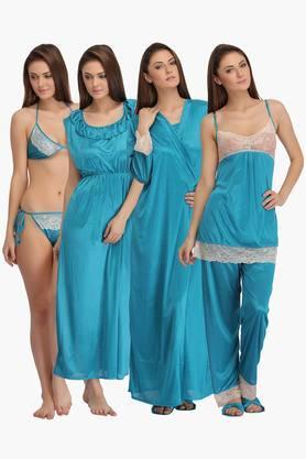 Womens Lacy Nightwear - Set of 7