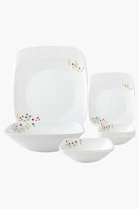 CORELLE Asia Collection Printed Dinner Set - 21 Pieces - 201866983