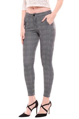 KRAUS - GreyTrousers & Pants - 7