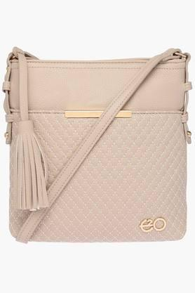 E2O Womens Zipper Closure Sling Bag - 202220788