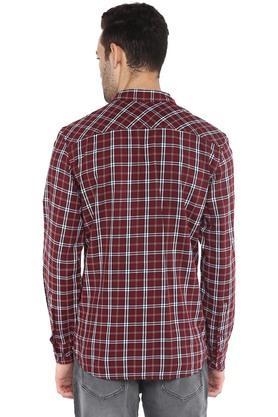 Mens 2 Pocket Checked Shirt