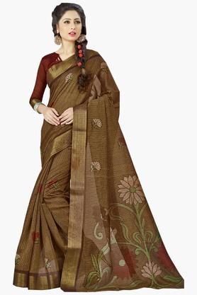 DEMARCAWomens Silk Designer Saree - 202338169