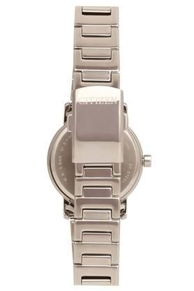 Womens White Dial Metallic Analogue Watch - EQ9060-53A
