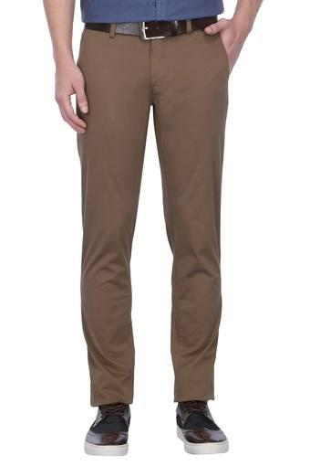 LOUIS PHILIPPE SPORTS -  Brown MixCargos & Trousers - Main